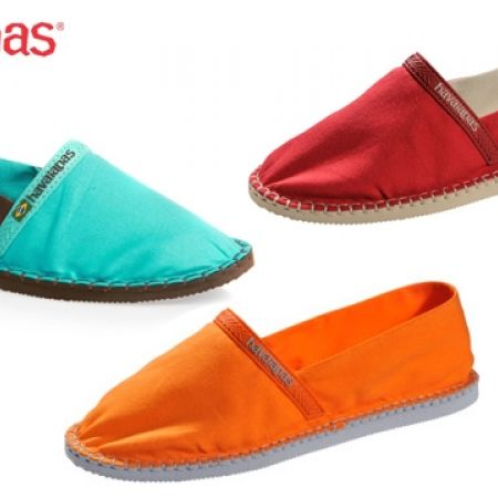 39% Off Havaianas Espadrilles Origine For Women - Size: 35 - Ruby Red (Only $33 instead of $54)