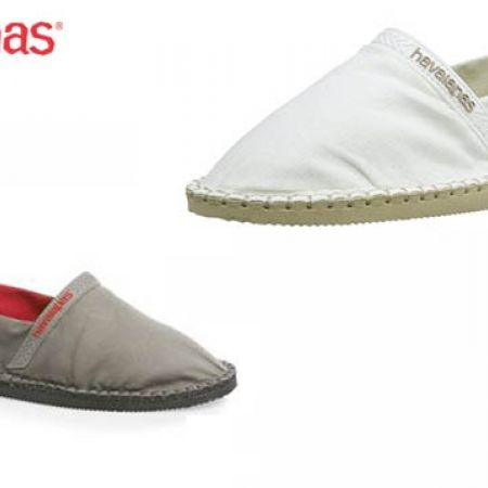 39% Off Havaianas Espadrilles Origine For Men - Size: 42 - Ice Grey (Only $33 instead of $54)
