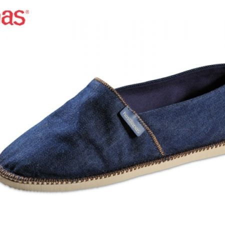 45% Off Havaianas Espadrilles Origine Denim Relax For Men - Size: 41 - Navy Blue (Only $33 instead of $60)
