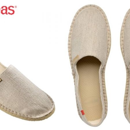 45% Off Havaianas Espadrilles Origine Premium Beige For Women - Size: 35 (Only $33 instead of $60)