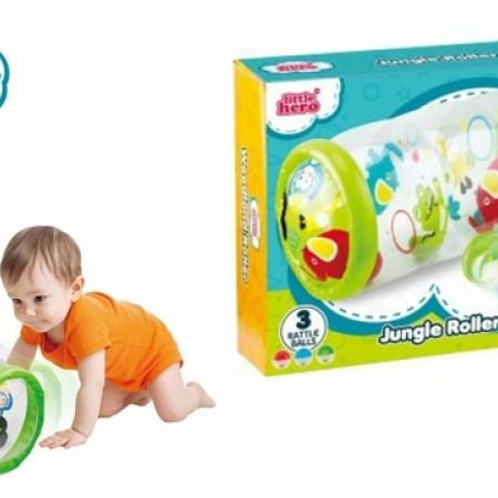 27% Off Little Hero Jungle Roller 3 Rattle Balls (Only $8 instead of $11)