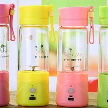 30% Off 3 In 1 Mini Portable Electric Juice Cup, Blender & Power Bank - Green (Only $19 instead of $27)