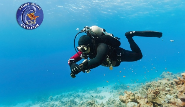 53% Off Discovery Scuba Diving Session With Photo Shooting from C-Club Scuba Diving Center, Tabarja (Only $40 instead of $85)