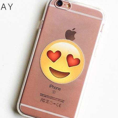 41% Off Milkyway Clear TPU Cell Phone Case Lovestruck Emoji - For iPhone 7 (Only $13 instead of $22)