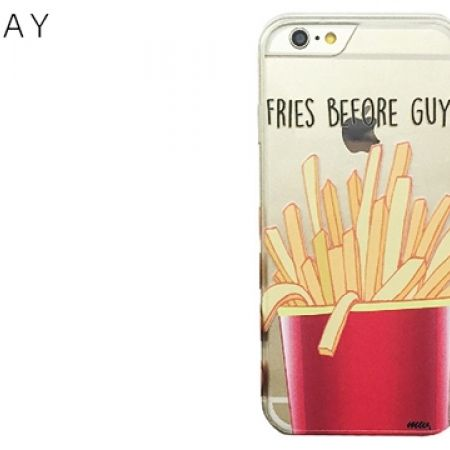41% Off Milkyway Clear TPU Cell Phone Case Fries Befor Guys For iPhone 7 (Only $13 instead of $22)
