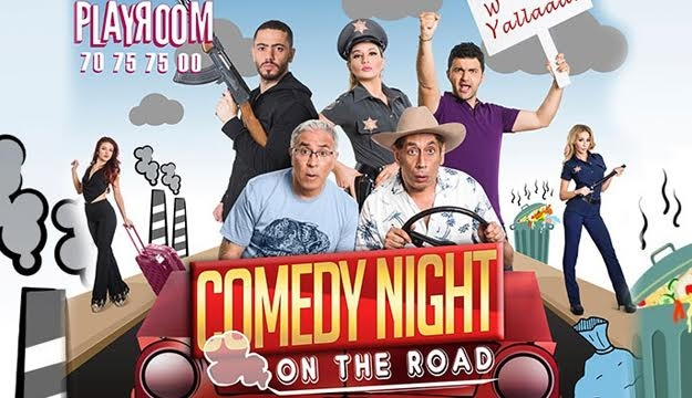 "33% Off ""On the Road"" Show Tickets on April 01 With Two Regular Drinks from Playroom, Jdeideh (Only $40 instead of $60)"