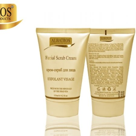 20% Off Albatros Dead Sea Facial Scrub Cream 125 ml (Only $16 instead of $20)