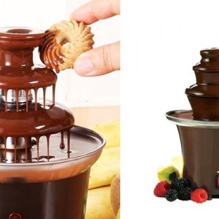 40% Off Mini Chocolat Brown Fondue Fountain 65 W (Only $18 instead of $30)