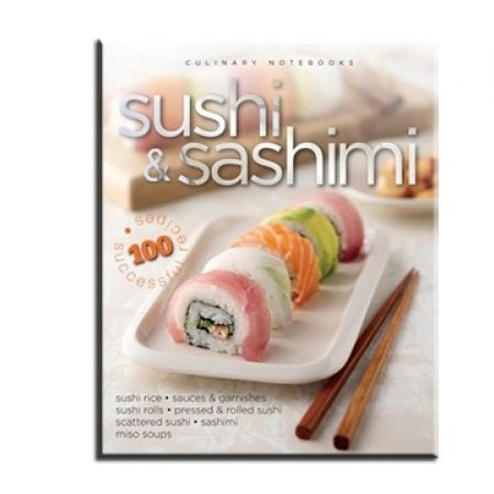 25% Off Culinary Notebooks: Sushi & Sashimi (Only $7.50 instead of $10)