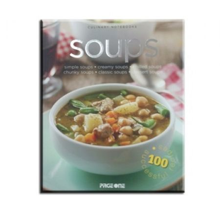 25% Off Culinary Notebooks: Soups (Only $7.50 instead of $10)