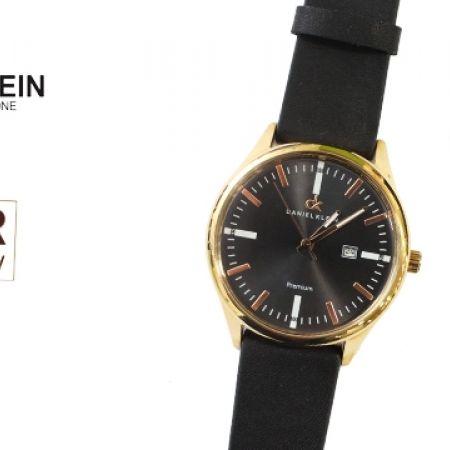 43% Off Daniel Klein DK10400 Premium Black Leather Strap Watch For Men (Only $39 instead of $69)