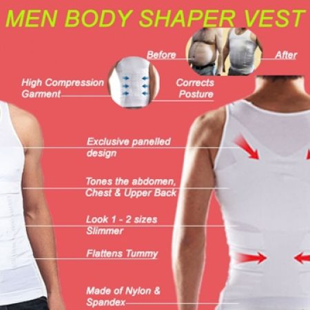 0d24ac45cac99 31% Off Slim  N Lift White Body Shaper For Men Large 40 82 cm (Only ...