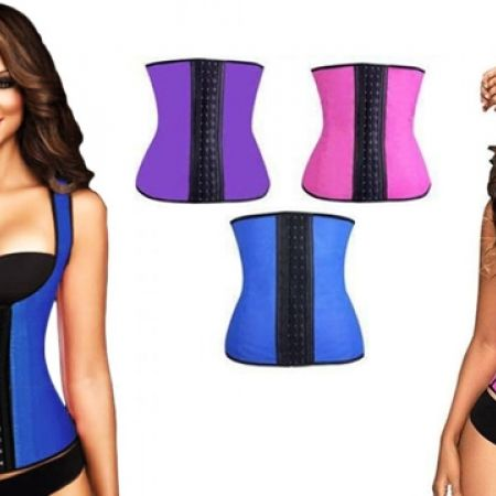 31% Off Rubber Purple Slimming Sculpting Clothing For Women - M/L (Only $9 instead of $13)