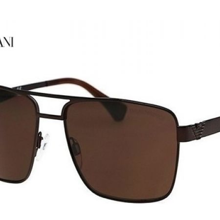 50% Off Emporio Armani Sunglasses EA 2019 3049/73 Matte Brown Frame With Brown Fade For Men (Only $105 instead of $210)