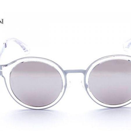 6b9729ca1a6d9 50% Off Emporio Armani Round Sunglasses EA 2029 3107 6G Matte White ...