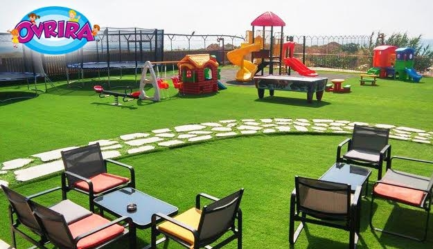 50% Off Playground Entrance with Popcorn & Juice from Ovrira, Khaldeh (Only $5 instead of $10)