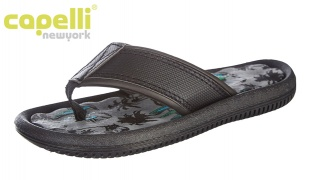 47% Off Capelli New York Tropical Breeze Print Flip Flop For Boys - Size: 27-29 (Only $9 instead of $17)
