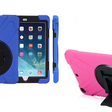 45% Off Heavy Duty Shockproof High Impact Resistant Rugged Multi-Layer Full Body Protection Cover - iPad Air One - Army (Only $11 instead of $20)