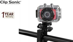 Clip Sonic HD Miniature Sport Camera 8 Mpix