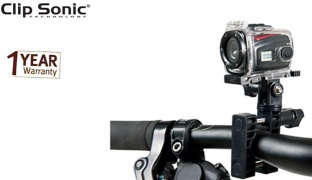 Clip Sonic Miniature HD Sports Camera 1.3 Mpix