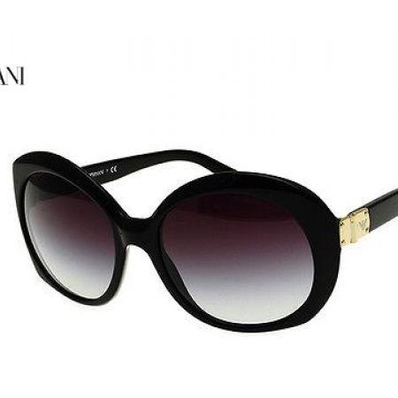 4fa208d2f210 Emporio Armani Sunglasses EA 4009 5017 8G Black Frame With Grey Gradient  Fade For Women