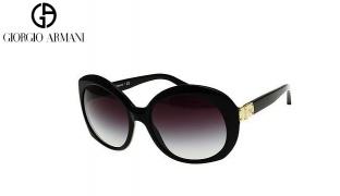 Emporio Armani Sunglasses EA 4009 5017/8G Black Frame With Grey Gradient Fade For Women