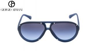 Emporio Armani Sunglasses EA 4010 5088/8F Matte Blue Frame With Grey Blue Fade Unisex