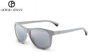 Emporio Armani Sunglasses EA 4034 5262/88 Grey Frame With Grey Gradient Fade Unisex