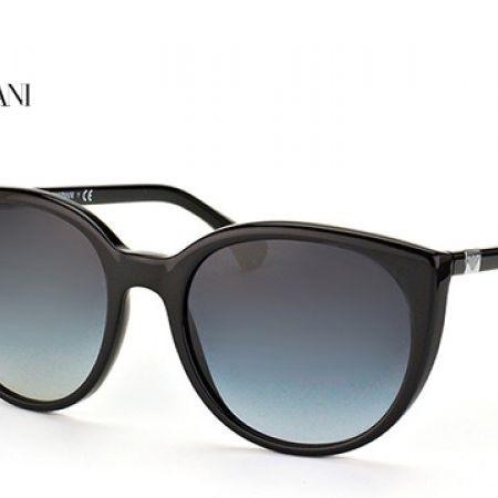 5f438f78485 Emporio Armani Sunglasses EA 4043 5017 8G Black Frame With Grey Gradient  Fade For Women - Makhsoom