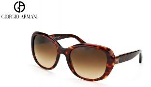Emporio Armani Sunglasses EA 4052P 5017/T3 Black Frame With Grey Polarized Fade For Women