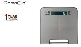 Domoclip Stainless Steel Impedance Meter Digital Scale 150 kg