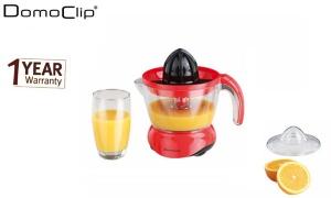 Domoclip Red & Black Electric Juicer 25 W 0.7 L