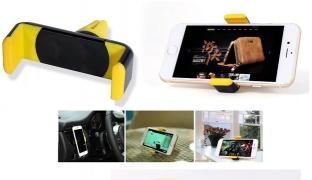 Mini Universal Car Holder - Black/Yellow