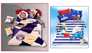 Set Of 3 Pcs Cartoon Printing Bedding Set For Kids 1 Pc Bed Duvet Cover, 1 Pc Bed Sheet and 1 Pc Pillowcase - Brands