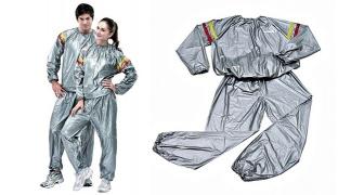 Sauna Exercise Suit Unisex - Large