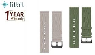 Fitbit Blaze Nylon Spare Wristband - Olive Green - Small