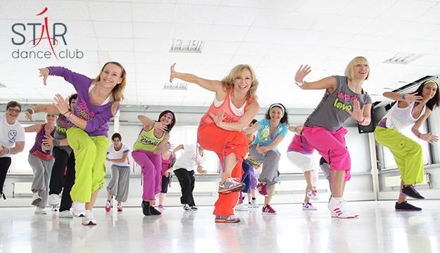 1-Month Zumba & Dance Fitness