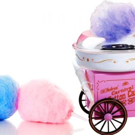 Vintage Mini Cotton Candy Machine
