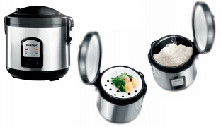 Silvercrest Stainless Steel Rice Cooker 400 W