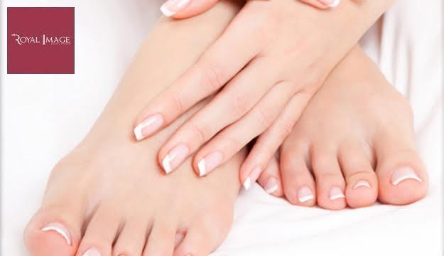 Regular Manicure & Pedicure