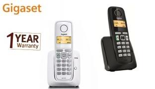 Gigaset A220 Cordless Phone Low Radiation - Black