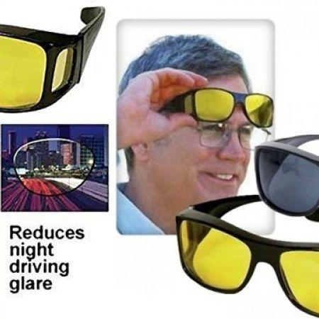 62dbfe41e88 Set Of 2 Pcs Unisex HD Vision Day   Night Anti-Glare Polarized UV Sunglasses  - Makhsoom