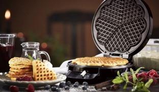 Silvercrest Flower Shaped Waffle Maker 1200 W