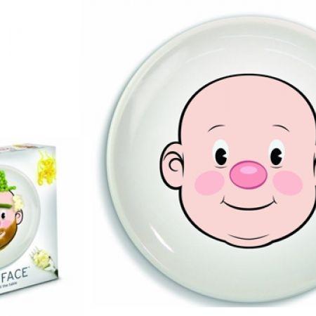 sc 1 st  Makhsoom & Food Face Dinner Plate For Kids - Makhsoom