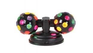 Livrano Lux Twin Rotating Disco Ball