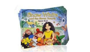 Snow White and The seven Dwarfs Jigsaw Book