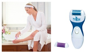 Ped Egg Power Cordless Electric Pedi Roller Foot File