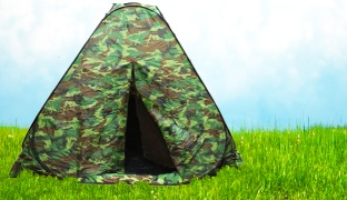 Camouflage Military Camping Tent For 3 Persons