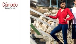 Comodo Lightweight Jogging Wear Pants For Women - Black - Small
