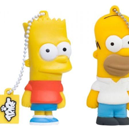 Tribe USB 2.0 Flash Drive 16GB - Homer Simpson